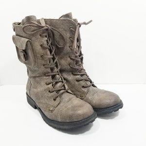 Roxy Seattle IV Combat Moto Boots